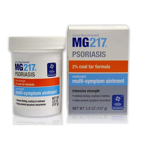MG217 Coal Tar Ointment Extra Strength 2% Psoriasis Treatment 4 OZ