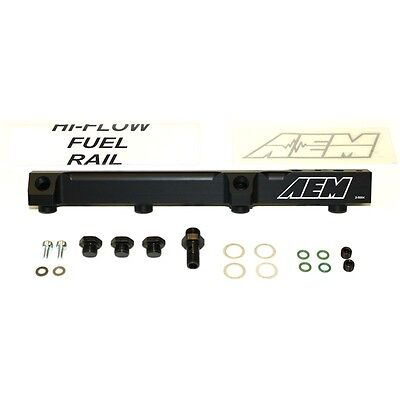 AEM FUEL RAIL 90-93 HONDA ACCORD DX LX EX F22A 25-104BK