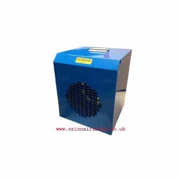 Blue Giant Series FF3T Industrial Electric Heater (3Kw / 12000Btu) 240V/110V~50Hz