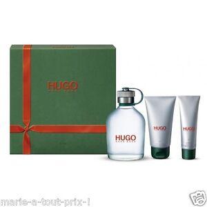 Hugo boss coffret green eau de toilette man baume apres rasage gel douche homme ebay - Coffret gel douche homme ...