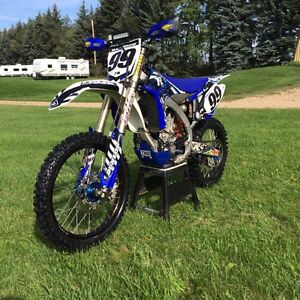 2010 Yamaha YZ450F fuel injected  REDUCED!!!