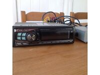 Alpine car stereo with Cd and iPod interface