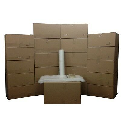 Basic Moving Box Kit - 20 Boxes 10 Medium10 Small Plus Supplies Included
