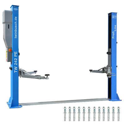 Twin Busch ® NEUE 2 Säulen Kfz Hebebühne 4200kg Profi Line - TW 242 PE
