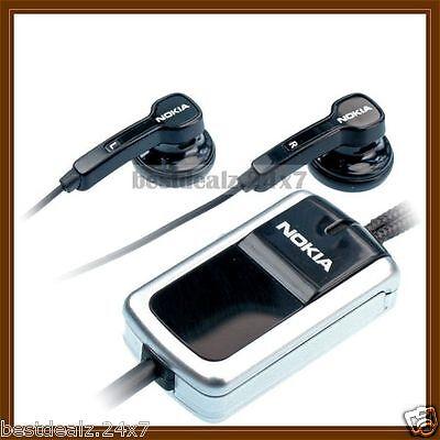 New OEM Original HS-23 HS23 Stereo Handsfree Headset for Nokia N71, N72, N73  for sale  MUMBAI