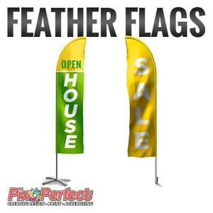 Feather Flags at www.pixoperfect.com - BEST PRICE IN TOWN with FREE SHIPPING!