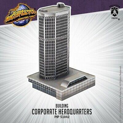 Monsterpocalypse Building - Corporate Headquarters Privateer Press