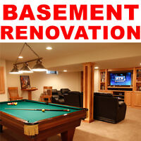 BASEMENT RENOVATION CONTRACTOR