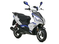 Lexmoto FMR 125cc Learner Legal Scooter - 1 Year Parts Warranty - Finance Available