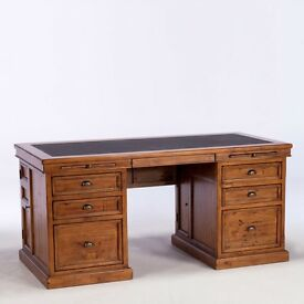 Large Office Desk - Reclaimed Wood from Barker and Stonehouse