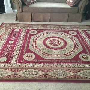 Large beautiful red  area rug
