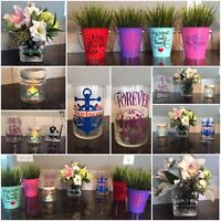 Custom made wedding Decor, gift ideas for any occasion