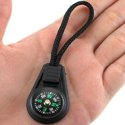 Convenient Small Creative keychain compass direction discrimination outdoor@#