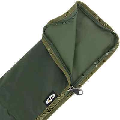 "Green Carp Fishing Stink Bag Case For 50"" Landing Net & Handle - Quality Zip!"