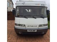 Winterised Hymer 534 Salinas Ski - left hand drive - 1997 - Turbo diesel
