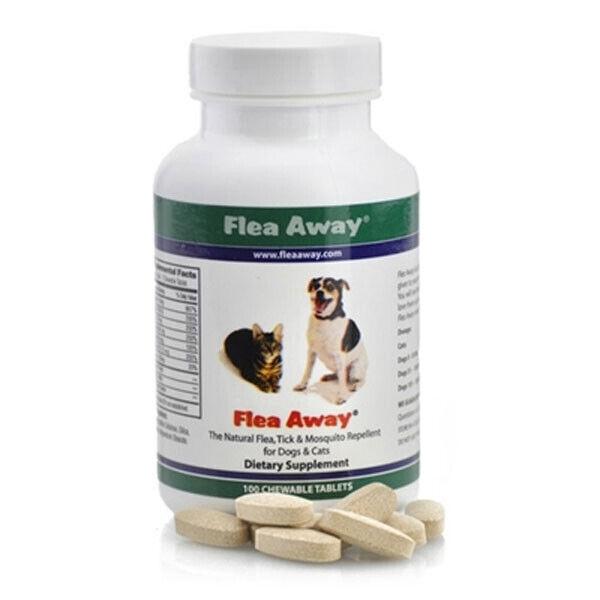 Flea Away - 100 Chewable Tablets by Flea Away