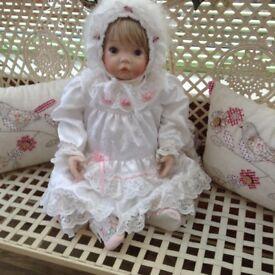 Life size porcelain doll
