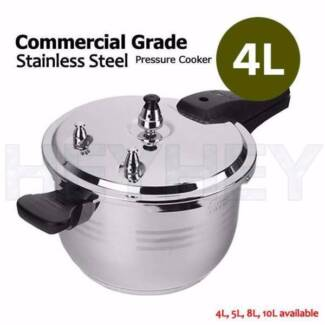 4L, 5L, 8L and 10L Commercial Stainless Steel Pressure Cooker