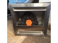 Gas fire remote control new aura- flame hole in the wall