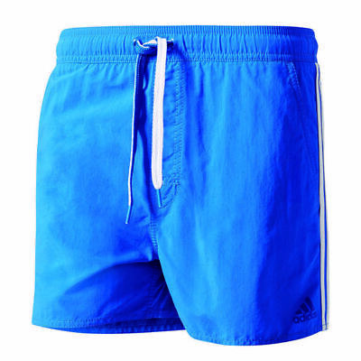 adidas Herren 3-Streifen Badeshorts Badehose Swim Shorts Schwimmhose Hose