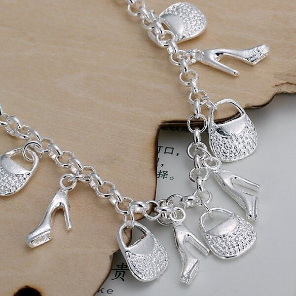 Cool Design Decorated Baggy And Shoes Chain Bracelet