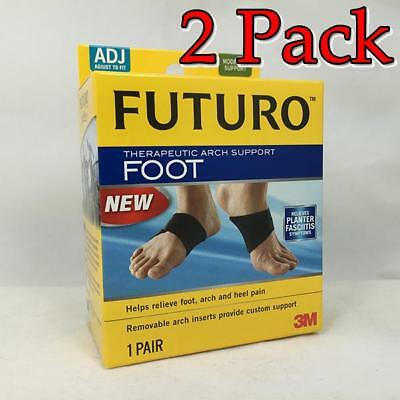 3M Futuro Foot Therapeutic Arch Support, 1pr, 3 Pack 0511312