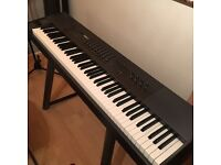 M audio oxygen 88 note usb midi weighted keyboard