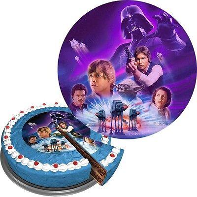 Star Wars Zuckerguss Tortenaufleger Kindergeburtstag Mottoparty