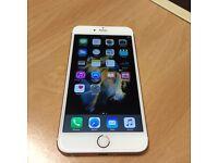 Apple I phone 6 s plus rose gold (16g) Unlocked !!!