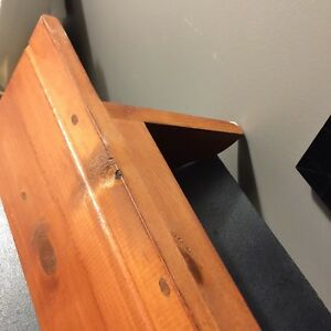 Wooden shelf Kitchener / Waterloo Kitchener Area image 4