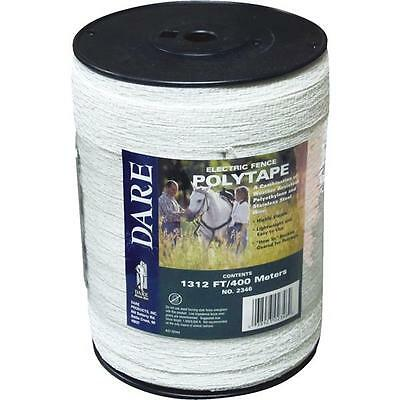 3 Pk Dare 12 X 1312 Electric Fence 5 Steel Strand Poly Tape 2346
