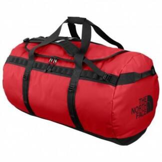 North Face Base Camp Duffel Bag - Medium (72L) Red