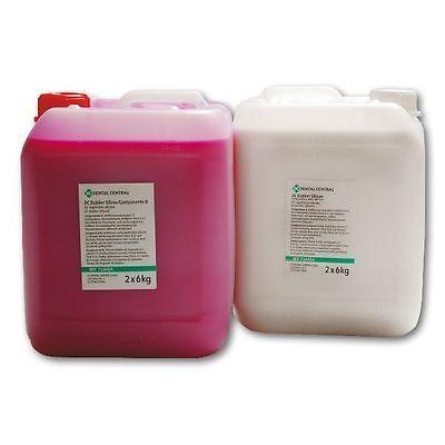 Abformmasse Dublier Silicone 1:1, Shore A22 / 2 x 6 KG / silicon silikon