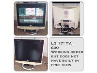 "LG 17""Tv"