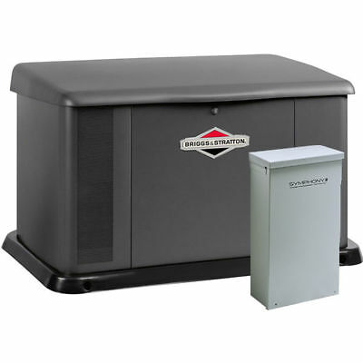 Briggs Stratton 20kw Standby Generator System 200a Service Disconnect Ac...