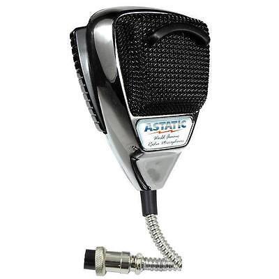 ASTATIC Chrome Edition CB Ham Radio Microphone 636L-C 4-pin mic  Astatic Dealer
