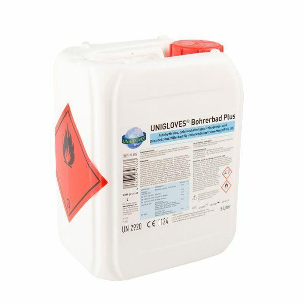 Unigloves Bohrerbad Plus Instrumentendesinfektion Fusspflege Instrumente 5 Liter
