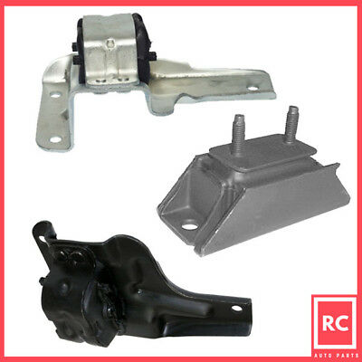 Engine Motor & Trans Mount 3PCS Set for 97-04 Ford F150/ F250 4.6L / 5.4L 4WD ()