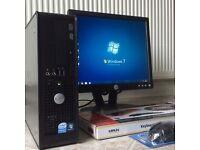 *Full Package* Dell Windows 7 Pro WiFi PC Set