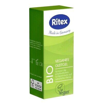 Frei Haus: Ritex BIO 50ml veganes Gleitgel, biologisches Gleitgel, parabenfrei