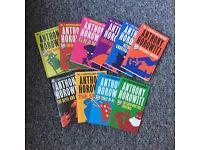 Job lot of Anthony Horowitz books x10