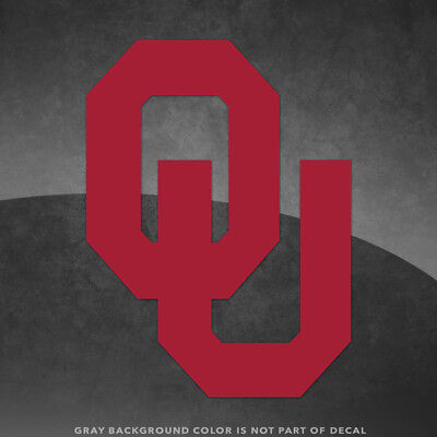 Oklahoma Sooners Ou Logo Vinyl Decal Sticker   4  And Larger   30  Colors