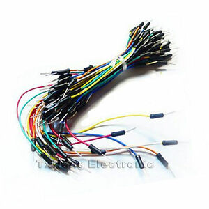 65Pcs-Male-to-Male-Solderless-Flexible-Breadboard-Jumper-Cable-Wires-For-Arduino
