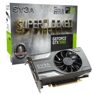 EVGA GeForce GTX 1060 SC GAMING, 3GB Brand New Seal Intact