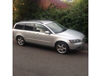 2005 54reg Volvo V50 1.8 SE Silver Leather