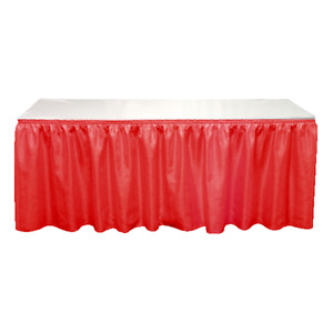 Table skirts  trade show equipment