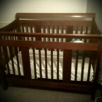 Used Crib with Mattress for sale