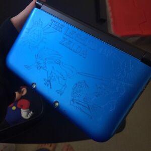 Legend of Zelda Engraved 3DS w/ Games