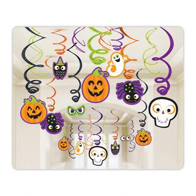 Ausverkauf Familie Freundlich Halloween Wirbel Hängedekoration - Wert - Freundliche Halloween Dekoration