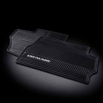 GM# 17803323 2007-2014 ESCALADE FRONT PREMIUM ALL WEATHER RUBBER FLOOR MATS